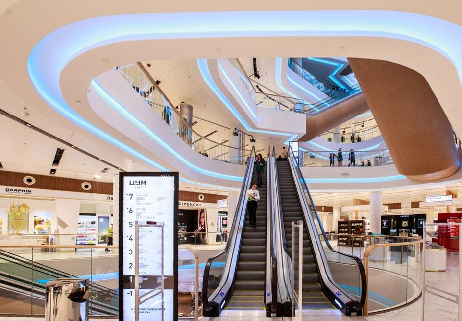 Σήμανση Lumaire σε malls