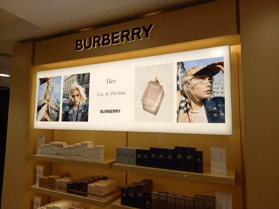 Burberry Lightbox